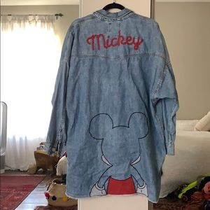RARE DISNEY DENIM SHIRT